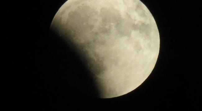 Nevşehir'de Kanlı Ay Tutulması Heyecanla İzlendi