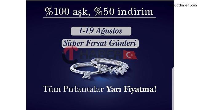 Blue Diamond Pırlanta Yüzük Modellerinde %50 Indirim
