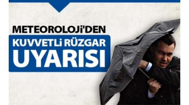 Meteroloji Yarın Nevşehir İçin Kuvvetli Rüzgar UyarısıYaptı