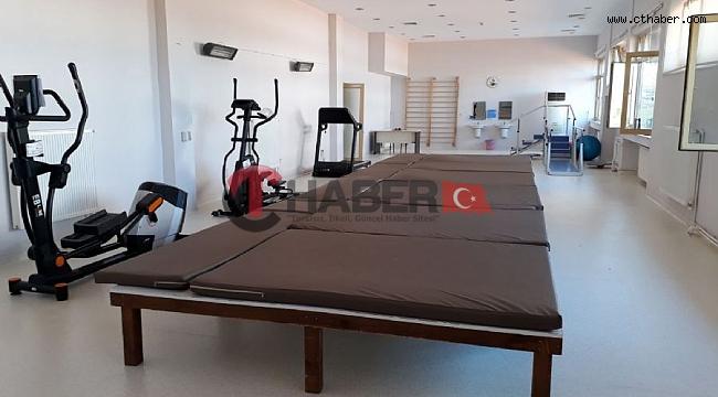 Nevşehir Sağlık Müdürlüğüne bağlı Kozaklı Fizik Tedavi ve Rehabilitasyon Hastanesinde serbest Çalışma ve Spor  Odası Yenilendi