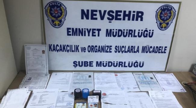 SAHTE BELGE ÇETESİ ÇÖKERTİLDİ